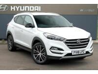 2018 Hyundai Tucson 1.7 CRDI Blue Drive GO SE (2WD) DCT Diesel white Manual