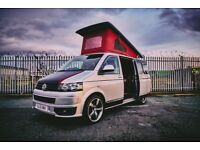 Brand new camper conversion. pop top, custom dash, 6 seater. 2 berth.Vengeance Red interior. Kitchen