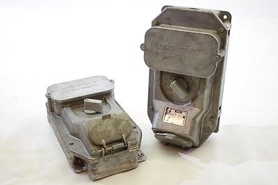 Great Old Metal Switch with Socket, Main Switch Light Switch Bunker