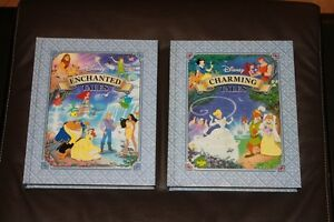 Disney Collector Hard Cover Books