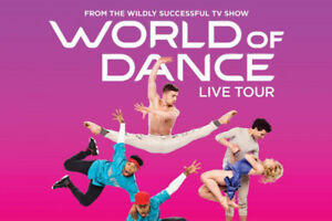 Tickets for World of Dance Live - The Centre In Vancouver,NOV 10