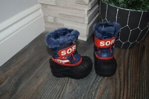 size 4 sorel boots toddler
