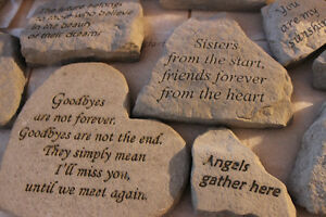 May you find comfort in the arms of an angel stone Windsor Region Ontario image 5