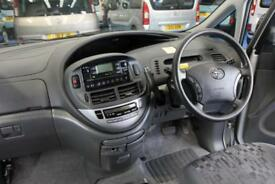 Toyota Previa Wheelchair ride next to driver Automatic accessible vehicle auto