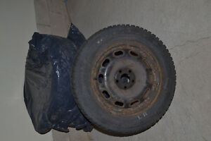 (Used) VW Jetta Winter Tires Oakville / Halton Region Toronto (GTA) image 1