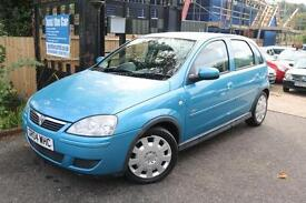 Vauxhall Corsa 1.4I Automatic Blue 5 Door Low Mileage Finance Available