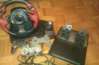volant de jeux (x-box(play station)
