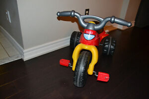Toddler Kawasaki 3 wheeler ride on Toy with pedals