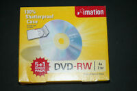 "DVD-RW six pack ( brand new ) "" Imation "" brand"