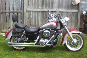 Beautiful 2002 Kawasaki Vulcan Classic