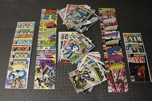 Marvel Comic lot – Daredevil, Moon Knight, and the Punisher