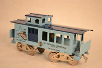 Splendide train caboose standard gauge Mc Coy