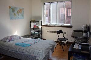 Chambre à louer, spacieux appartement (4½) à partager