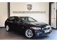 2014 14 BMW 5 SERIES 2.0 520D M SPORT TOURING 5DR AUTO 181 BHP DIESEL