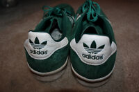 Mens Adidas Green sneakers size 11