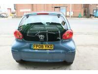 2008 Toyota AYGO 1.0 VVT-I BLUE HATCHBACK Petrol Manual