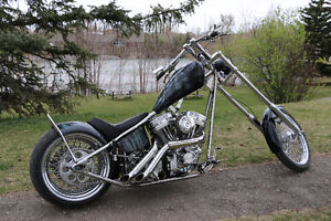 Custom Built Lucky 13 Chopper Motorcycle