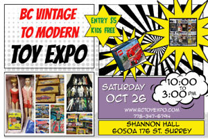 BC Vintage To Modern Toy Expo