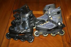 K2 and Rollerblade Brands-Great quality roller blades