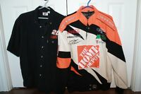Nascar Embroided Jacket and Shirt - Tony Stewart - Home Depot