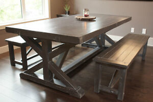 Reclaimed Wood Dining Table Starting @ $2295 and More! By LIKEN Woodworks