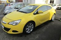 Opel Astra GTC 1.6 Turbo Edition 8-fach bereift Navi
