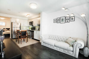 Downtown Toronto Condo for Rent 1+1 at 18 Harbour Avail Imme