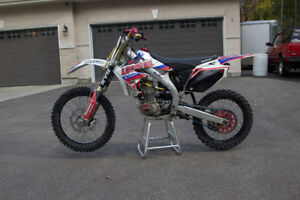 Crf450r with recent engine rebuild