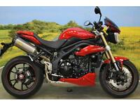 Triumph Speed Triple 2014** ARROW EXHAUSTS, HEATED GRIPS, SEAT COWL **