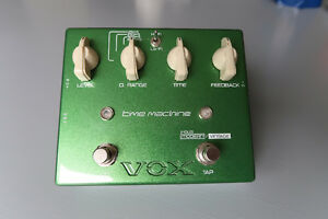 Vox Time Machine Delay Pedal, Joe Satriani Signature JS-DL St. John's Newfoundland image 3