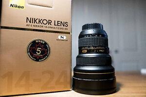 Lentille Nikon 14-24mm F2.8