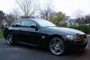 2011 BMW 335is DCT Coupe BLACK ON RED INT (REBUILT TITLE)