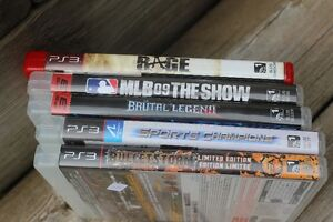 5  PLAY STATION 3   GAMES   ONLY $20.00