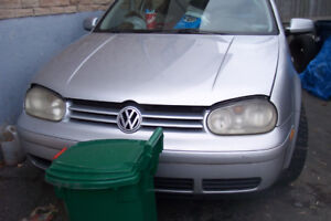 2001 vw golf tdi sale parts