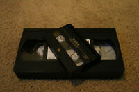 VHS & 8mm Video Cassette Transfers