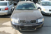 PARTING OUT AUDI A4 2003, 3.0 Automatic, AWD 97K.km