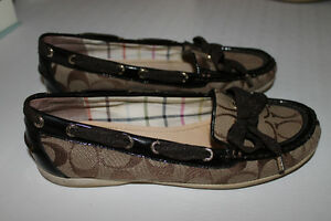 Authentic Coach shoes - women's size 8