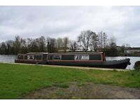 short term rent only,Canal boat on the thames,inc all bills.