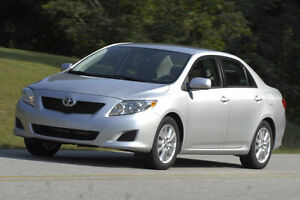 2009 to 2012 Toyota Corolla as is