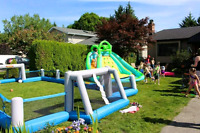 Waterslides + Bouncy Castles and more for Rent ($100 and up)