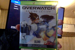 Overwatch Origins Edition Video Game Disc XBox One