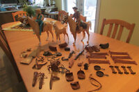 Western Horses, Riders & accessories