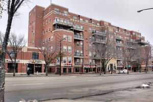 RENOVATED PH END UNIT IN THE HISTORIC GARNEAU ON WHYTE AVE!