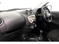 2013 Nissan Micra VISIA Petrol white Manual