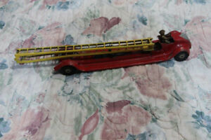 Vintage Kingsbury Ladder Fire Truck