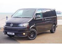 2013 VW TRANSPORTER T5 140 TDI SWB T28 HIGHLINE AIR-CON TAILGATE BLACK T5.1 GP