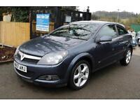 Vauxhall Astra 1.9CDTI 16V SRI 150PS Blue 3 Door Long MOT Full Service History