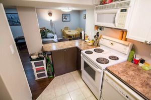 2 bedroom basement suite in Grandin