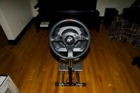 Thrustmaster T500RS wheel and pedals + Wheel stand pro
