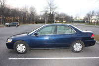 2001 Honda  Accord V6  3.0 L